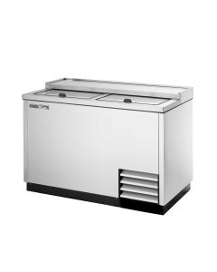 True T-50-GC-S-HC Plate and Glass Chiller/Froster, 2 Lids | Stainless Steel Exterior