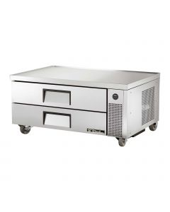 """Chef Base Low Boy Refrigerated Equipment Stand 52 """" with two drawers. The True TRCB-52 supports 717 Lbs equipment weight on it's surface"""