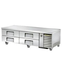 "True TRCB-79 4 Drawer Refrigerated Chef Base | 79"""