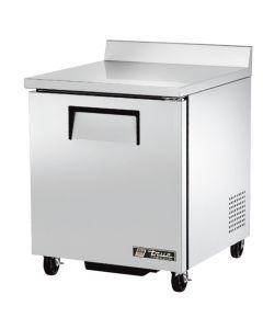 """27"""" one door worktop refrigerator w/ backsplash True TWT-27-HC"""