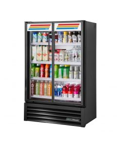 "True TVM-36SL 36"" Slim Line Refrigerated Visual Merchandiser"
