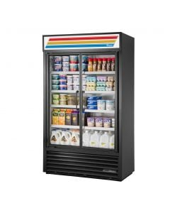 "True TVM-48SL 48"" Slim Line Refrigerated Visual Merchandiser"