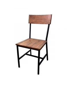 Oak Street Timber Series Dining Chair | Reclaimed Wood Seat