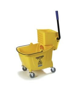 Carlisle 35 Qt Commercial Mop Bucket with Squeeze Ringer