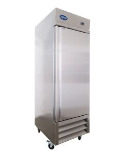 Entree CR1-SI Single Solid Door One Section Reach-In Upright Refrigerator