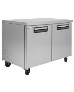Solid Two Door Undercounter Freezer 48 Inch 13 Cu.Ft. - VUF48