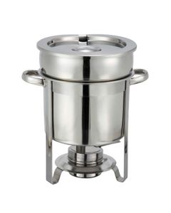 Winco 7 Quart Soup Warming Chafer Station