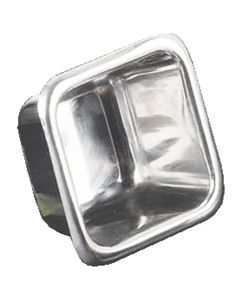 American Metalcraft Sauce Cup Square Stainless Steel 2-1/2oz