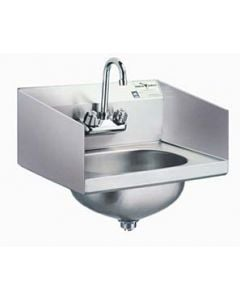 Eagle HSA-10-F-LRS Commercial Hand Sink with Splash Guards