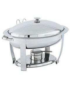 Vollrath 46501 Orion Small 4 Qt. Oval Chafer