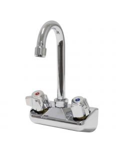 "4"" Splash Mount 3-1/2"" Gooseneck Faucet"