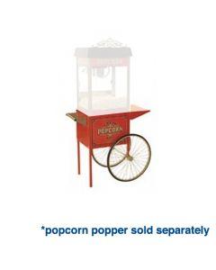 Popcorn Machine Cart - Vintage Popcorn Popper Street Vendor Trolley