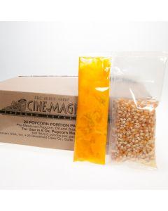 6 oz popcorn portion packs - Cinemagic 40006