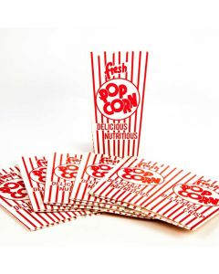 """.75 oz. Popcorn Scoop Box Serving Containers, 6"""" Tall (100/cs.)"""
