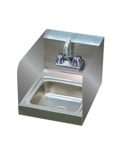 """Advance Tabco Hand Sink w/ 7-3/4"""" Side Splashes"""
