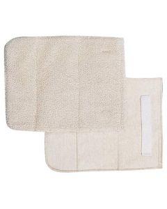 "Pan Grabber 8.5"" x 11"" Bakers Pad w/ Wrist Strap, Terry Cloth"