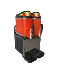 Commercial 6.4 Gallon Frozen Drink Machine | 2 Tanks