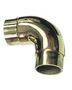 90 Degree Flush Curved Elbow for Brass Bar Rails