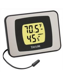Taylor 1523 Indoor/Outdoor Digital Thermometer & Hygrometer