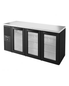 "TBR72-RISZ1-L-B-GGG-1 60"" Back Bar Cooler 