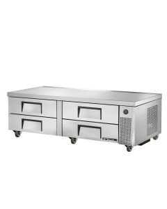"True TRCB-72 72"" 4 Drawer Chef Base Refrigerator"