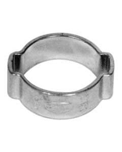 "Two Ear Hose Clamp for 1/2"" ID Beer & Gas Lines"