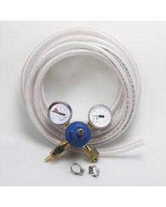 CO2 Regulator, Hose & Clamp Installation Kit