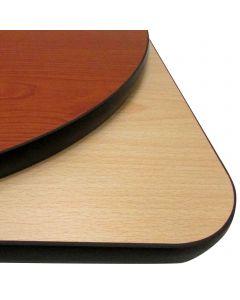 "24"" x 42"" Rectangular Reversible Table Top | Cherry/Natural"
