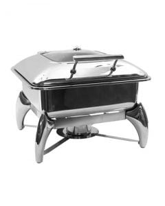 5 Qt 2/3 Size Stainless Steel Chafer Dish Unit
