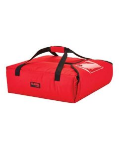 """20-3/4""""W  x 21-3/4""""D x 6-1/2""""H Insulated Pizza Delivery Bag for (2) 20"""" Pizzas"""