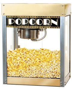 6 oz. Commercial Popcorn Machine Hollywood Premiere Benchmark 11068