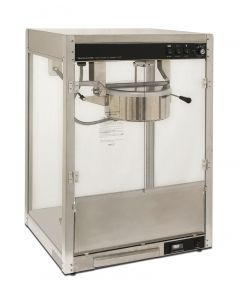 8 oz. Commercial Popcorn Machine Silver Screen Benchmark 11087