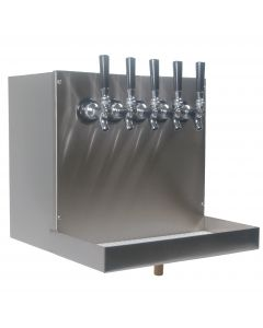 American Beverage Undercounter Beer Dispensing Tapping Cabinet