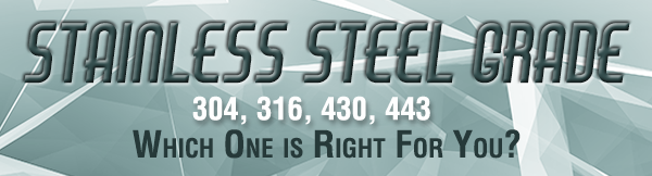 Stainless Steel For Your Kitchen Equipment